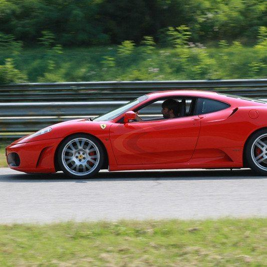 Al Volante di una Ferrari F430 sul Circuito di Precenicco - 3