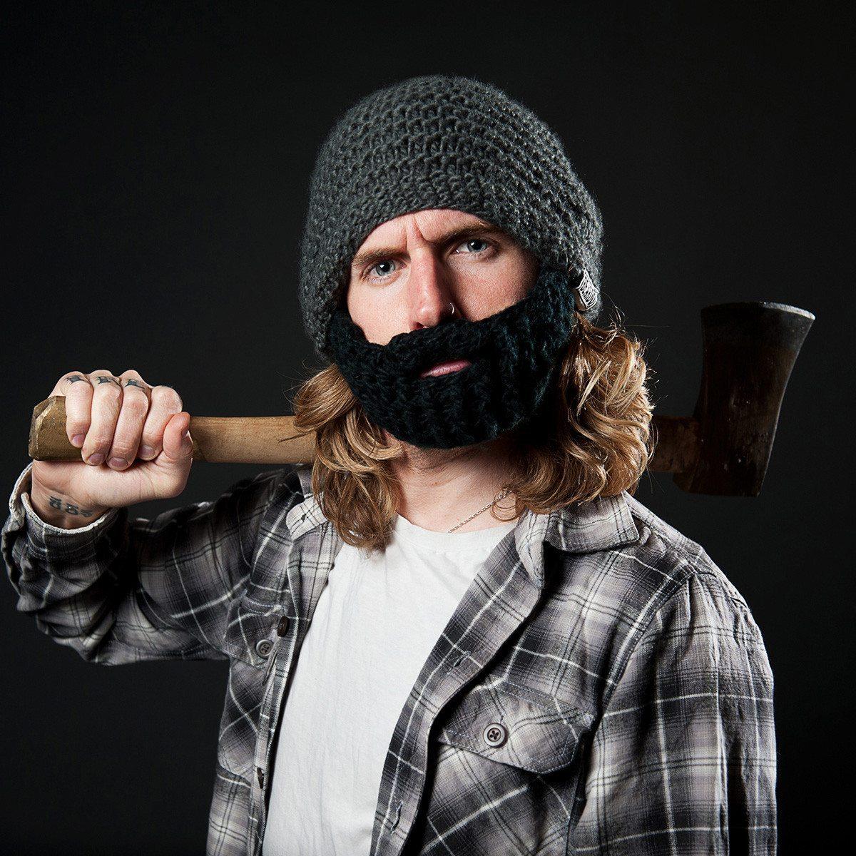 Beardo - Die Mütze mit Bart