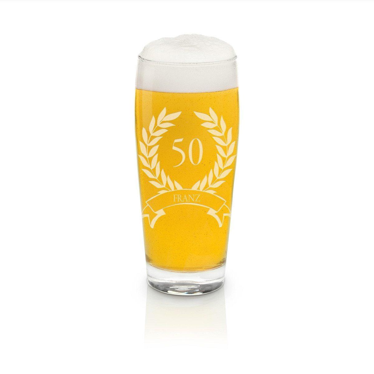 Bierglas Helles-Glas 0,5l - Jubiläum