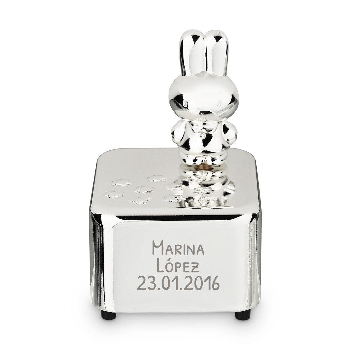 Caja de música Miffy grabada