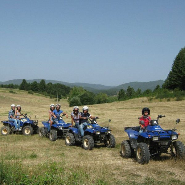 Escursione in quad al Lago Ariamacina - Sila, Calabria