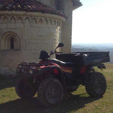 Escursione in quad per due persone nel Monferrato