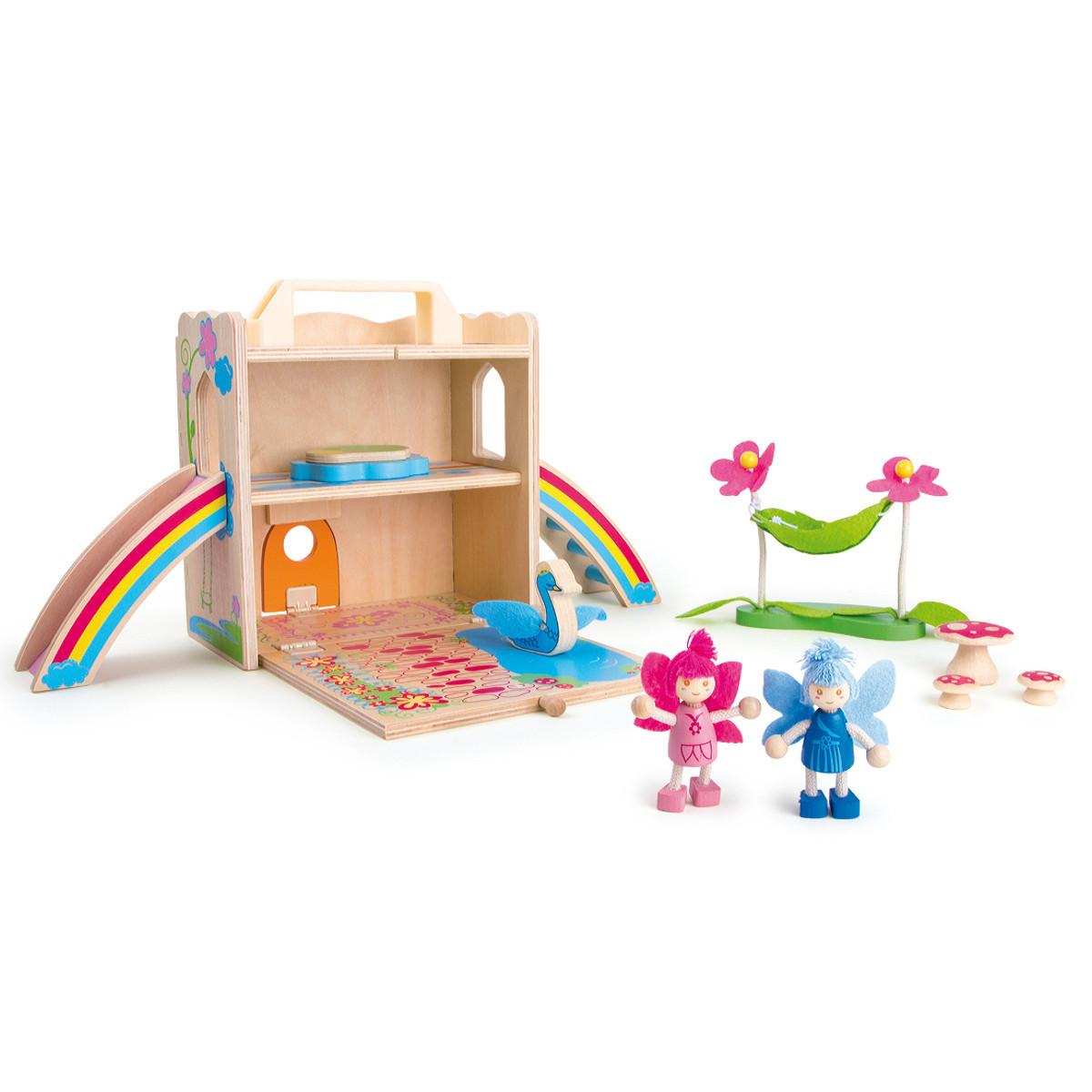 Feenhaus im Spielkoffer