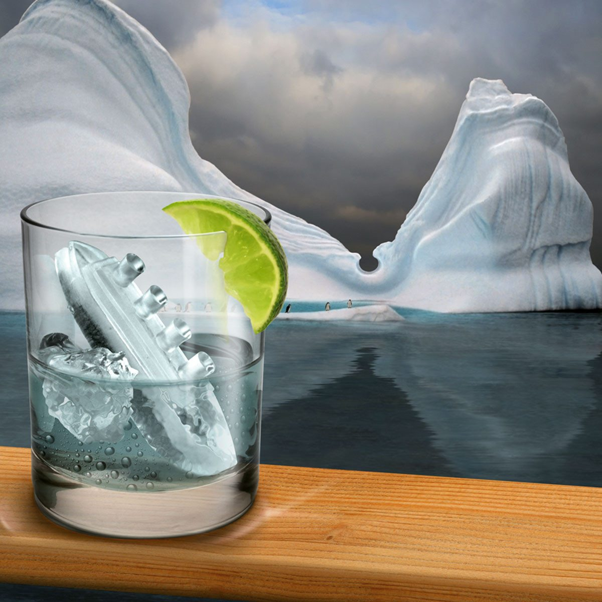 Gin & Titonic - Eiswürfelform