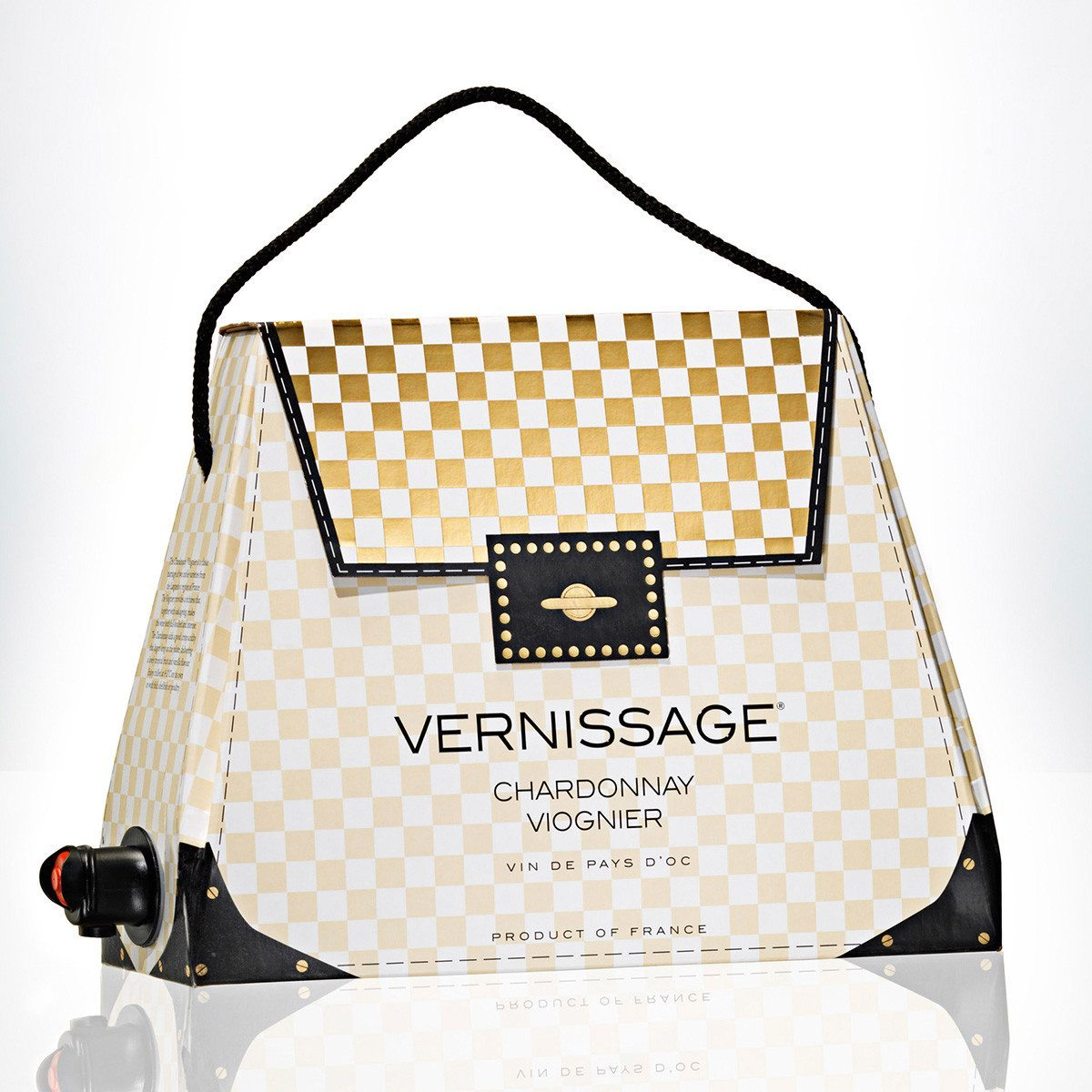 Glamour pur - Die Wein-Handtasche