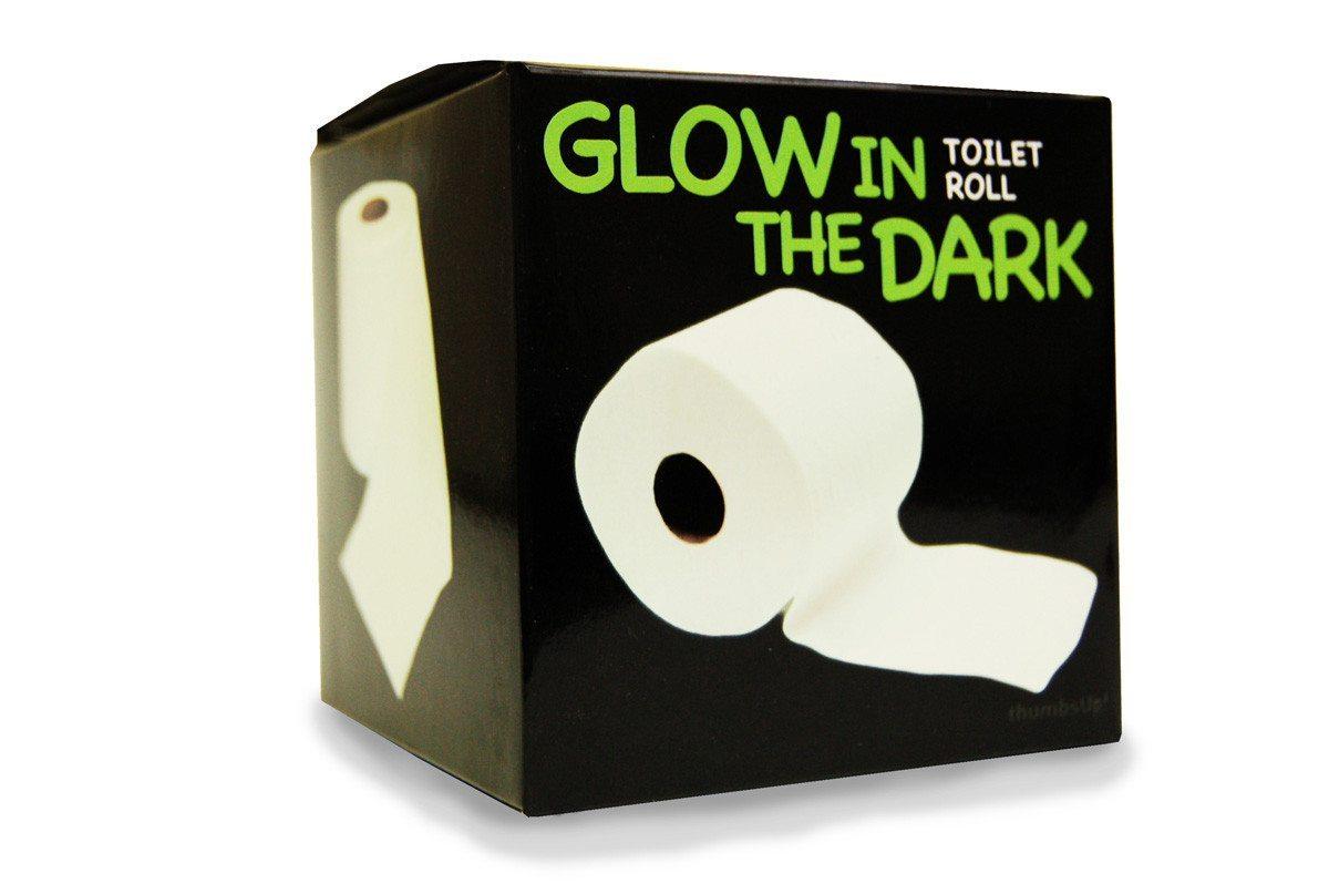 Im Dunkeln leuchtendes Toilettenpapier