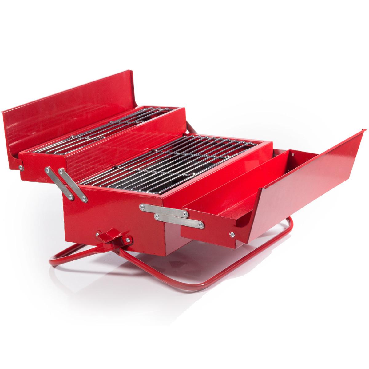 Klappgrill Werkzeugkoffer