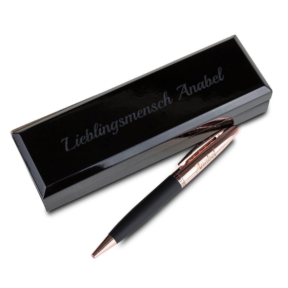 Kugelschreiber mit Gravur in Box