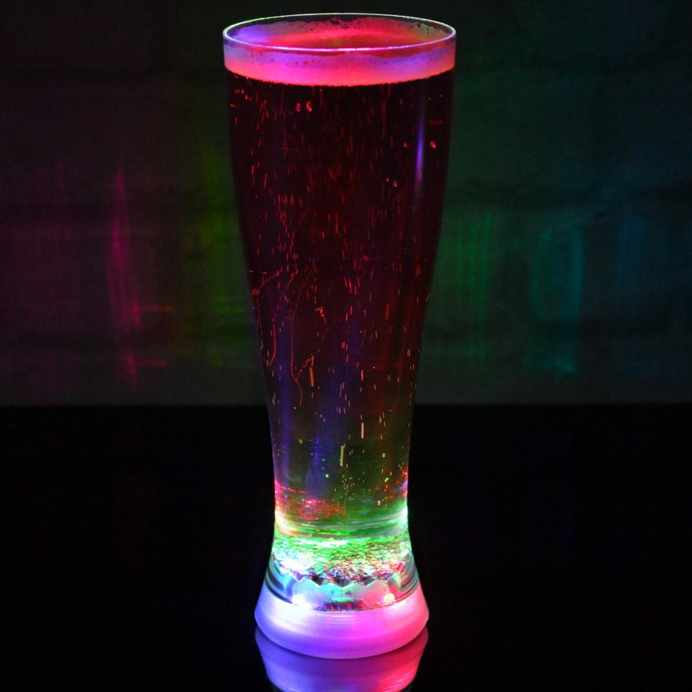 LED-Bierglas