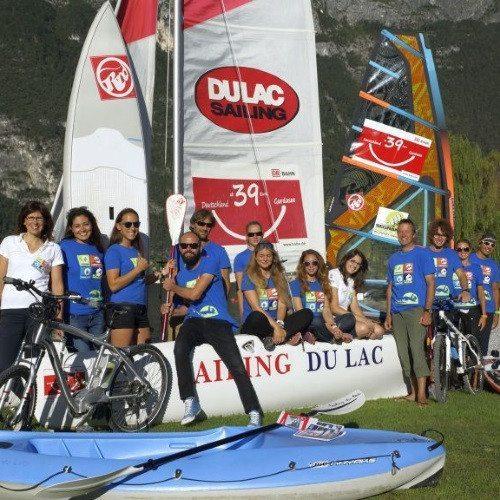 Lezione di vela per principianti - Lago di Garda
