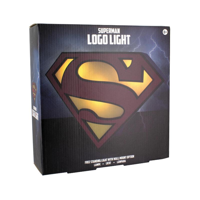 """Logo-Lampe """"Superman"""""""