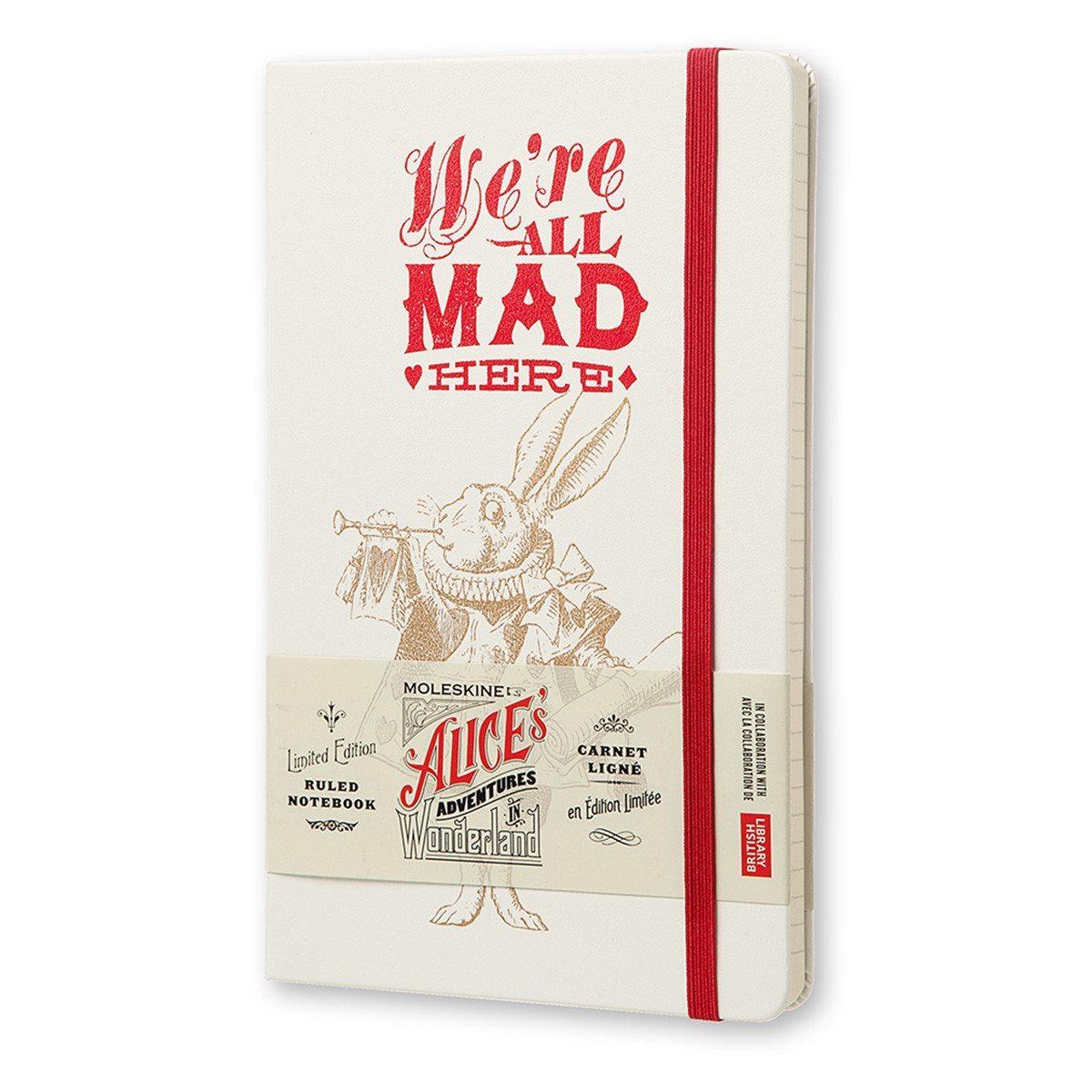 "Moleskine: ""Alice im Wunderland""-Notizbücher"