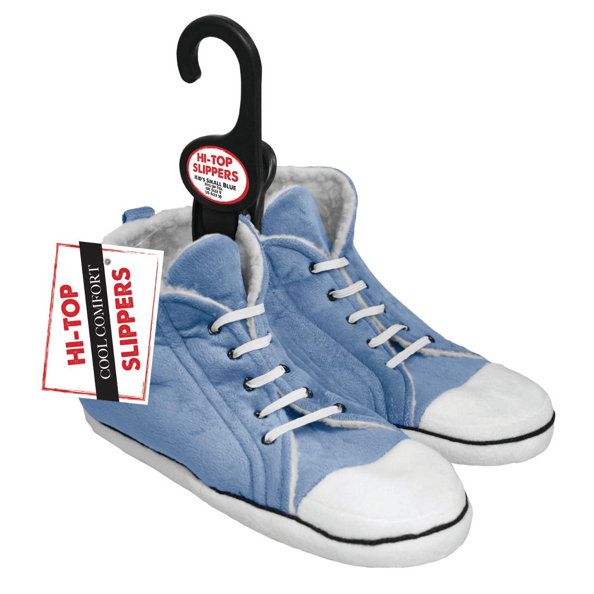 """Plüsch-Hausschuhe """"Sneaker"""" für Kinder"""