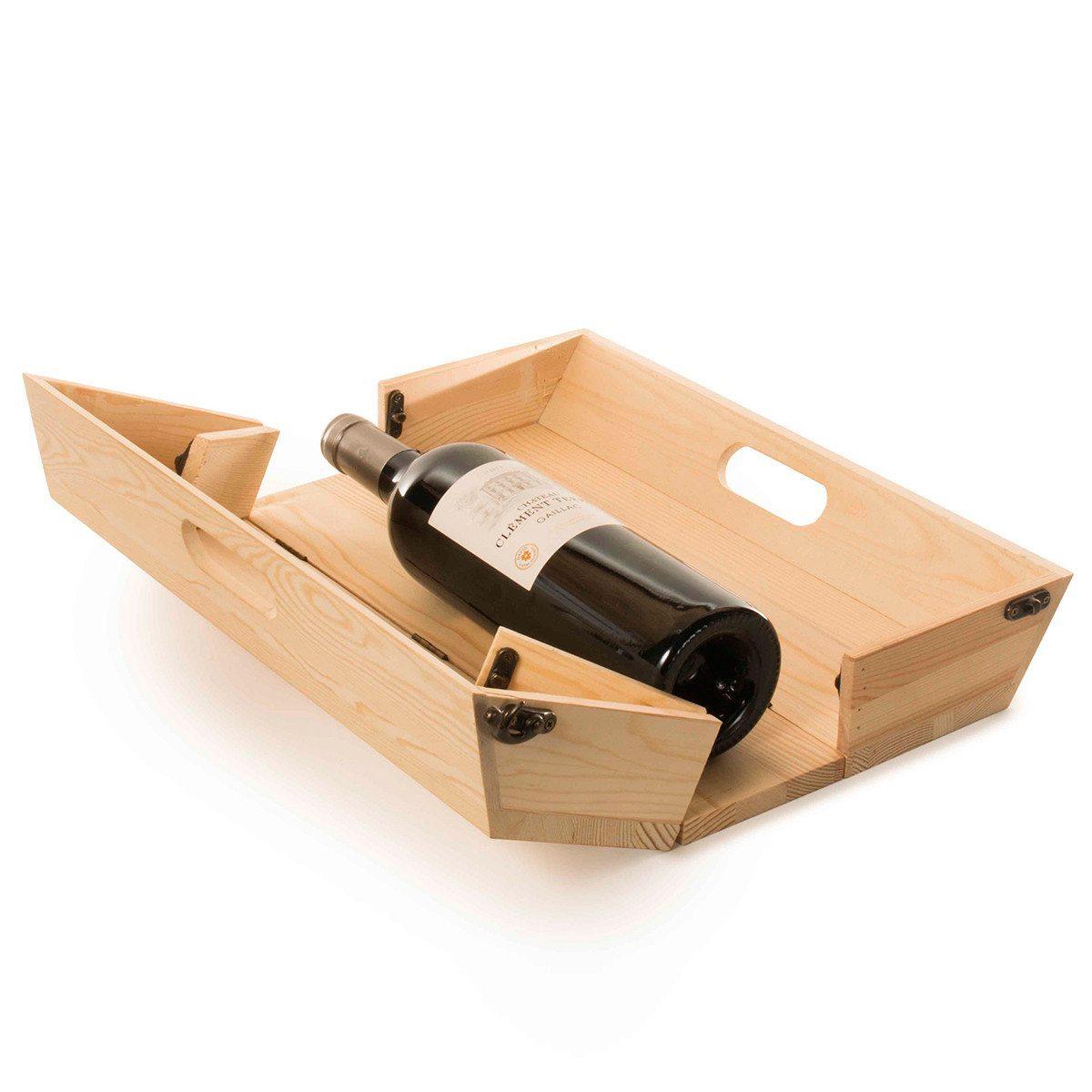 RACKPACK – graviertes Tablett & Geschenkbox in einem