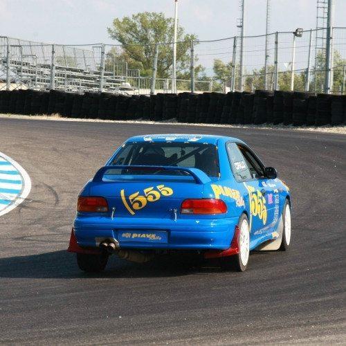 Rally a bordo della Subaru Impreza 555 - Pavia