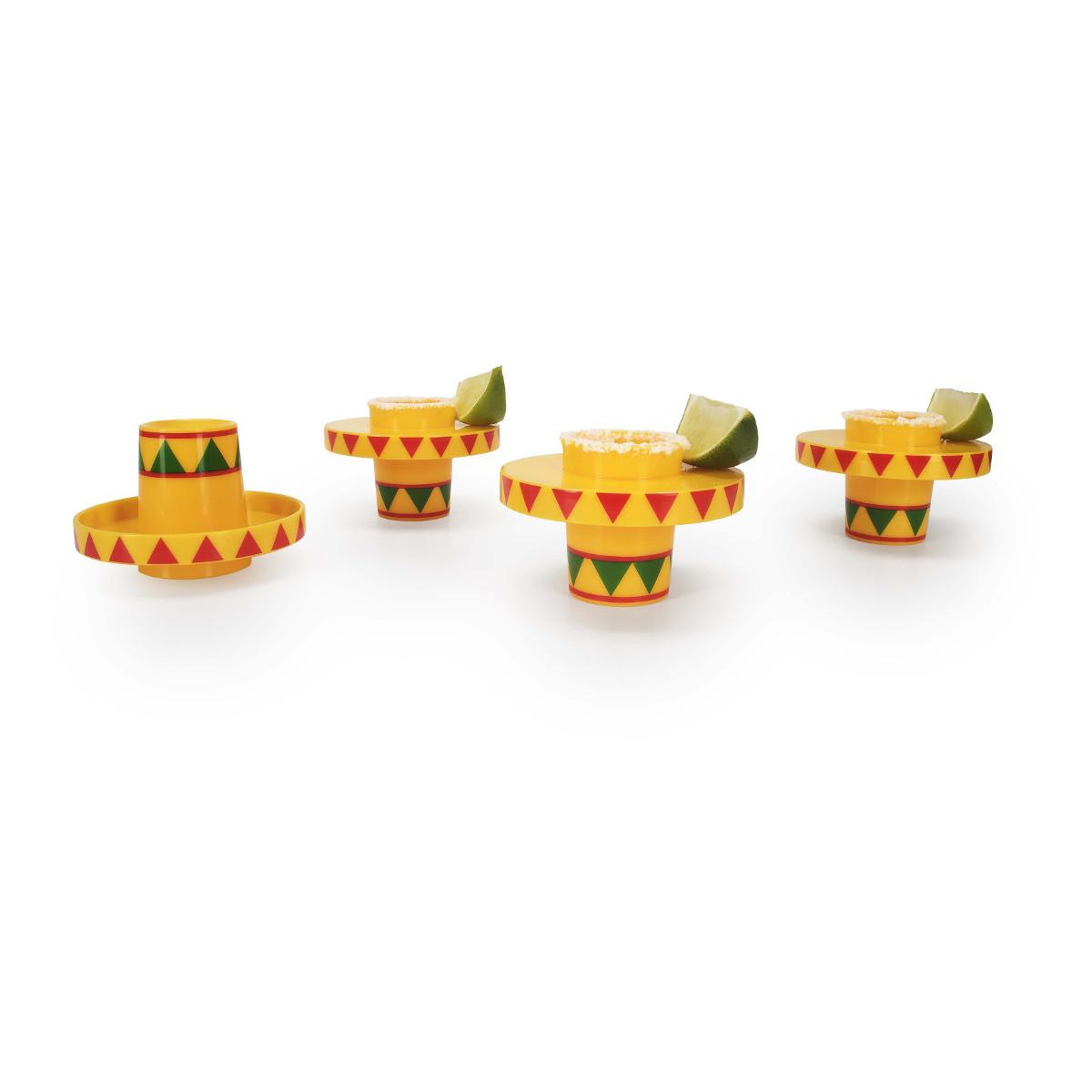 Sombrero Shot Gläser Set