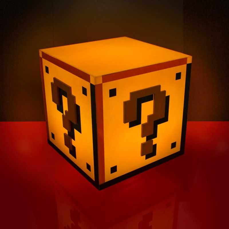 Super Mario 8-Bit-Lampe