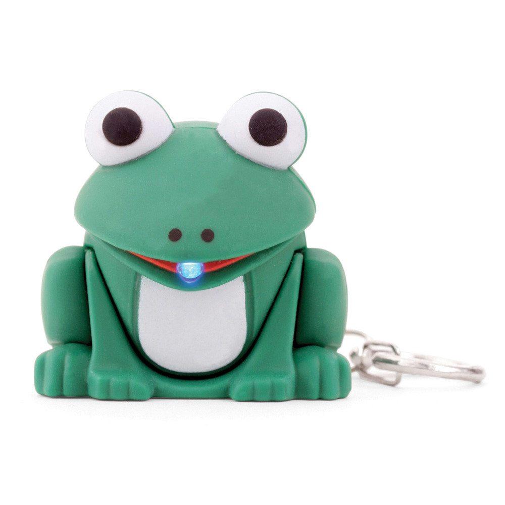 Tierische LED Schlüsselanhänger Frosch