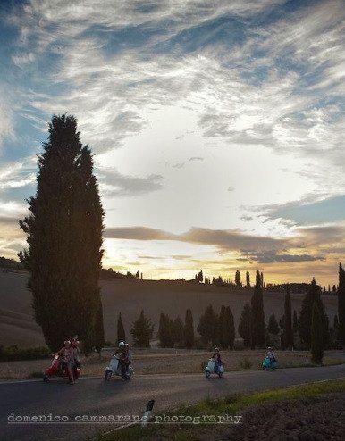 Tour guidati in vespa - Montepulciano