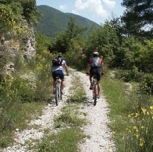Tour guidato in mountain bike - Cascata delle Marmore