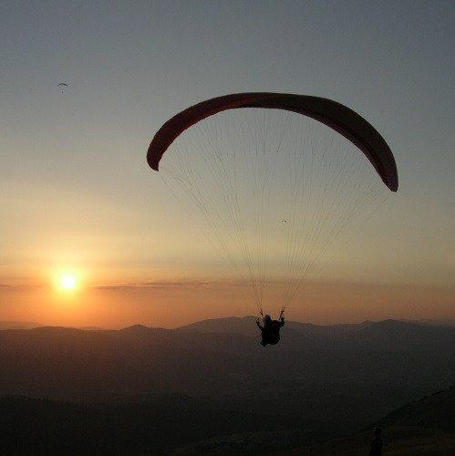 Volo biposto in parapendio - Monti Sibillini, Macerata