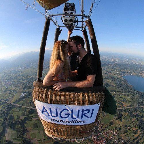 Volo esclusivo in mongolfiera per 2 persone - Piemonte