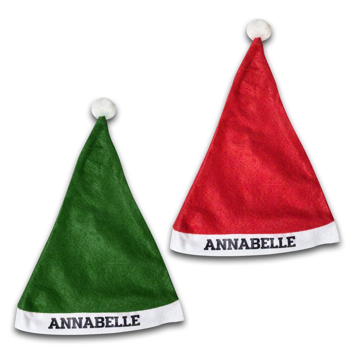 Weihnachtsmütze mit Namen