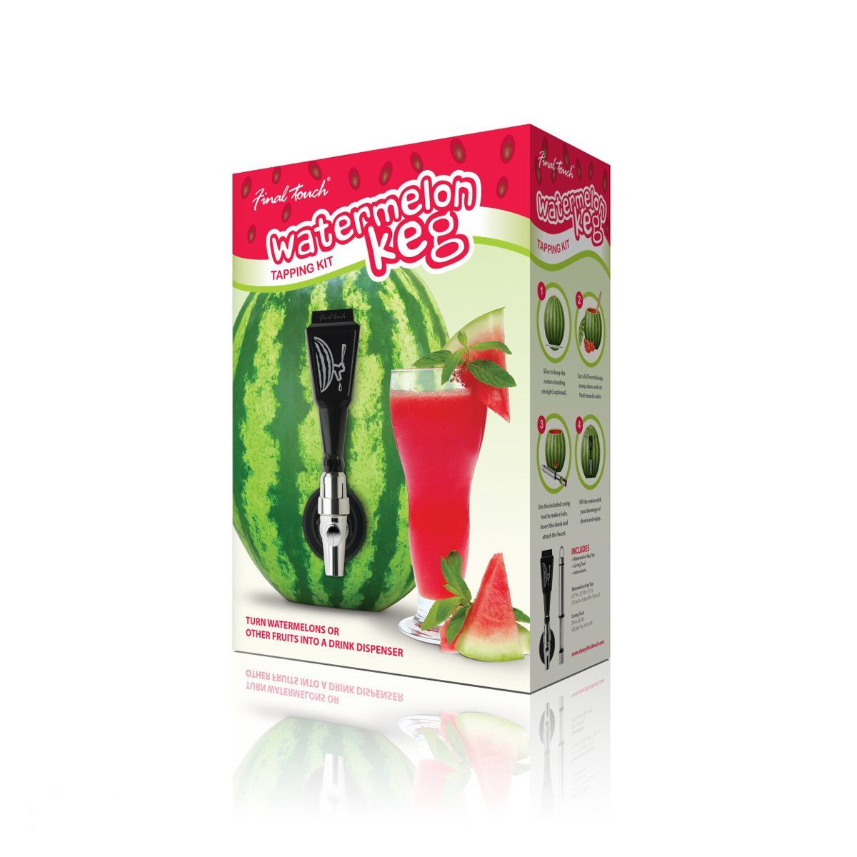 Zapfhahn-Set für Kürbis und Wassermelone