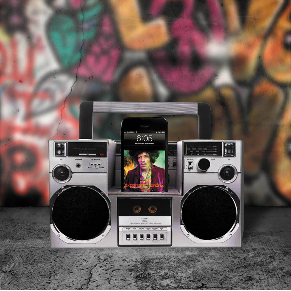 Akustische DIY-Boombox fürs Smartphone