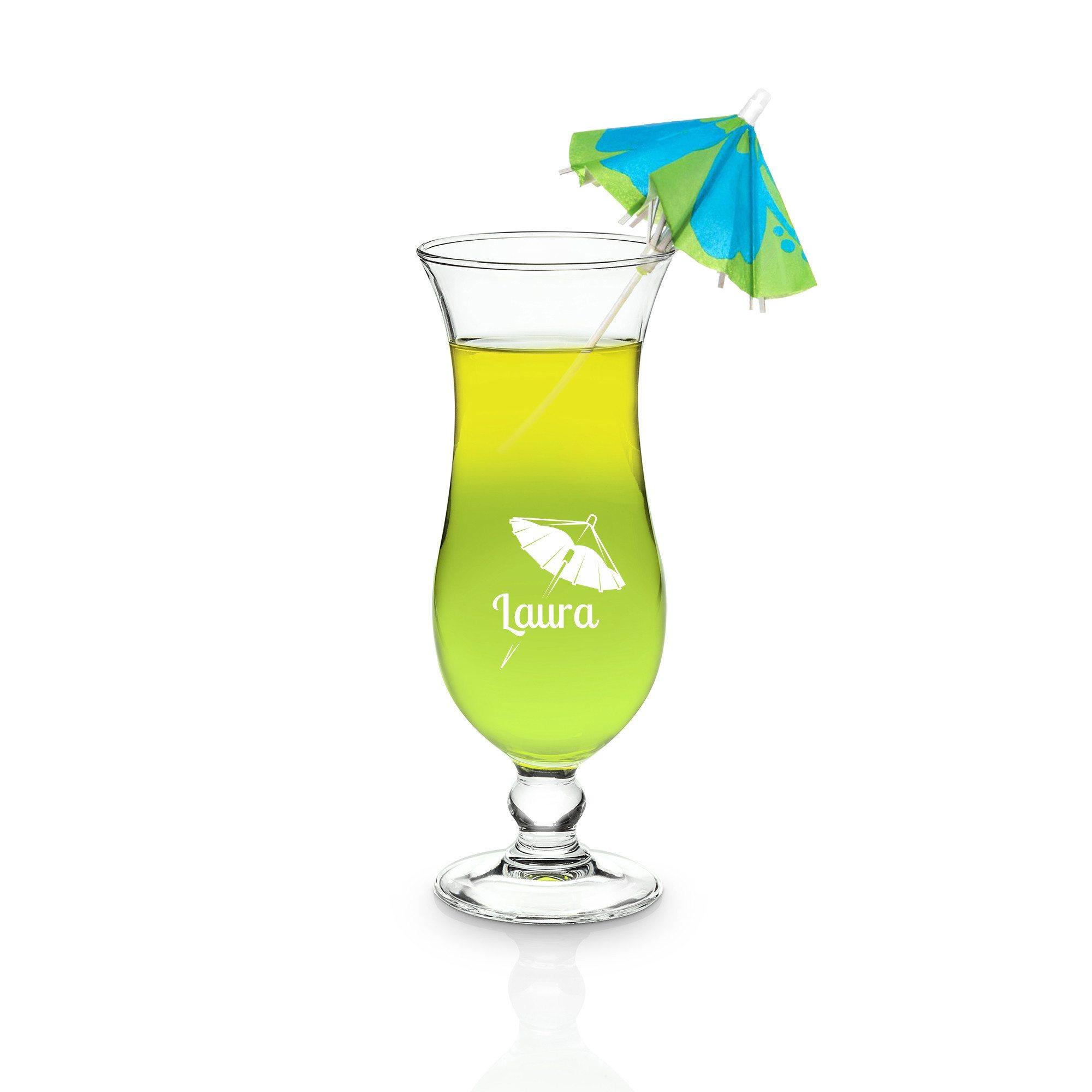 """Bicchiere da cocktail """"Hurricane"""" personalizzabile"""