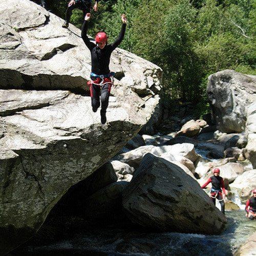 Discesa canyoning - Alta Valsesia