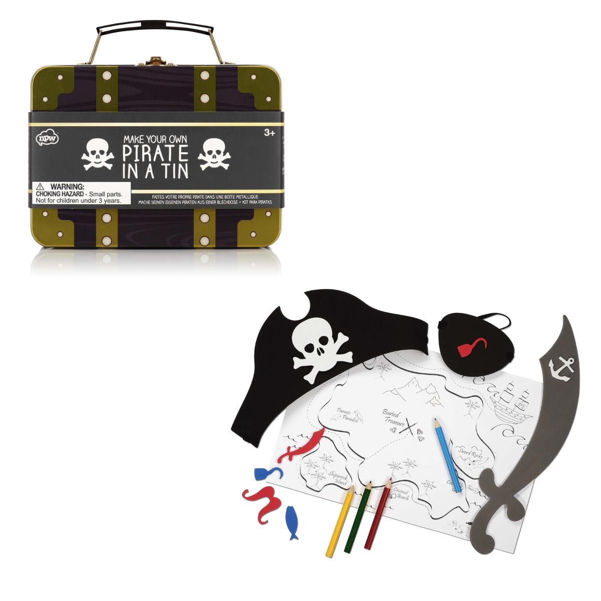 DIY Kinder Verkleidungsset Pirat