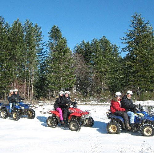 Escursione in quad sulla neve in coppia - Sila, Calabria