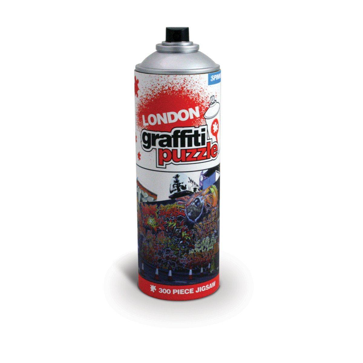 Graffiti-Puzzle: London