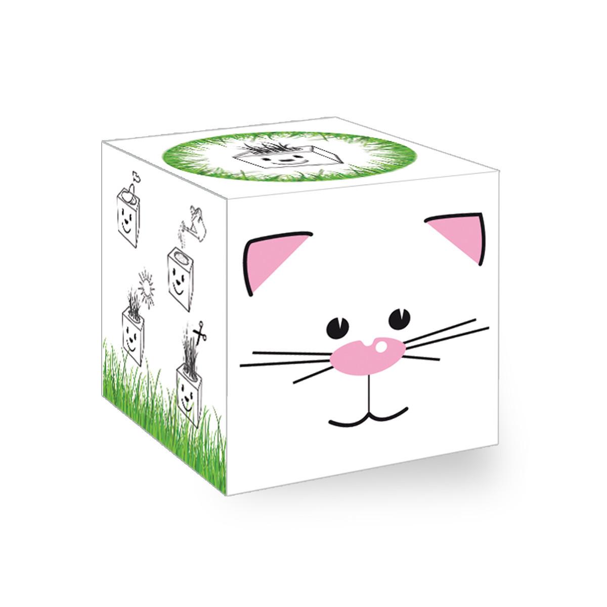 """GrassCube """"Katze"""""""