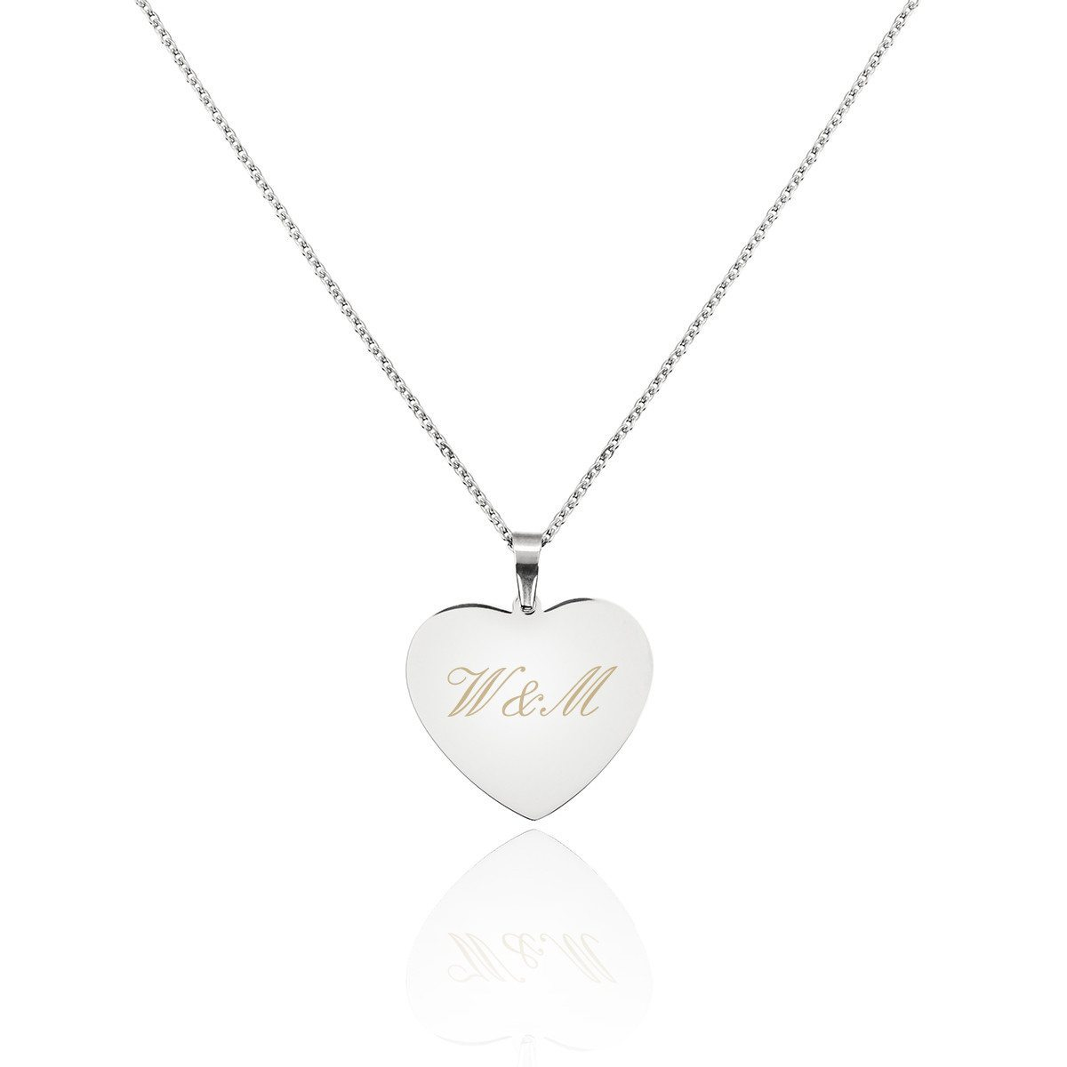 Halskette mit persönlichem Herzanhänger