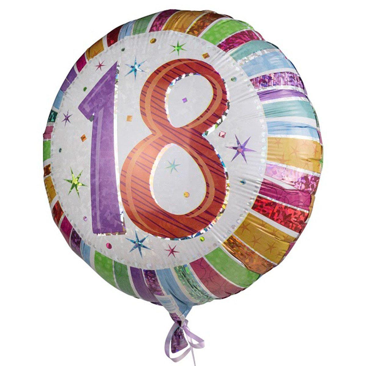 "Helium-Luftballon ""18th Birthday"""
