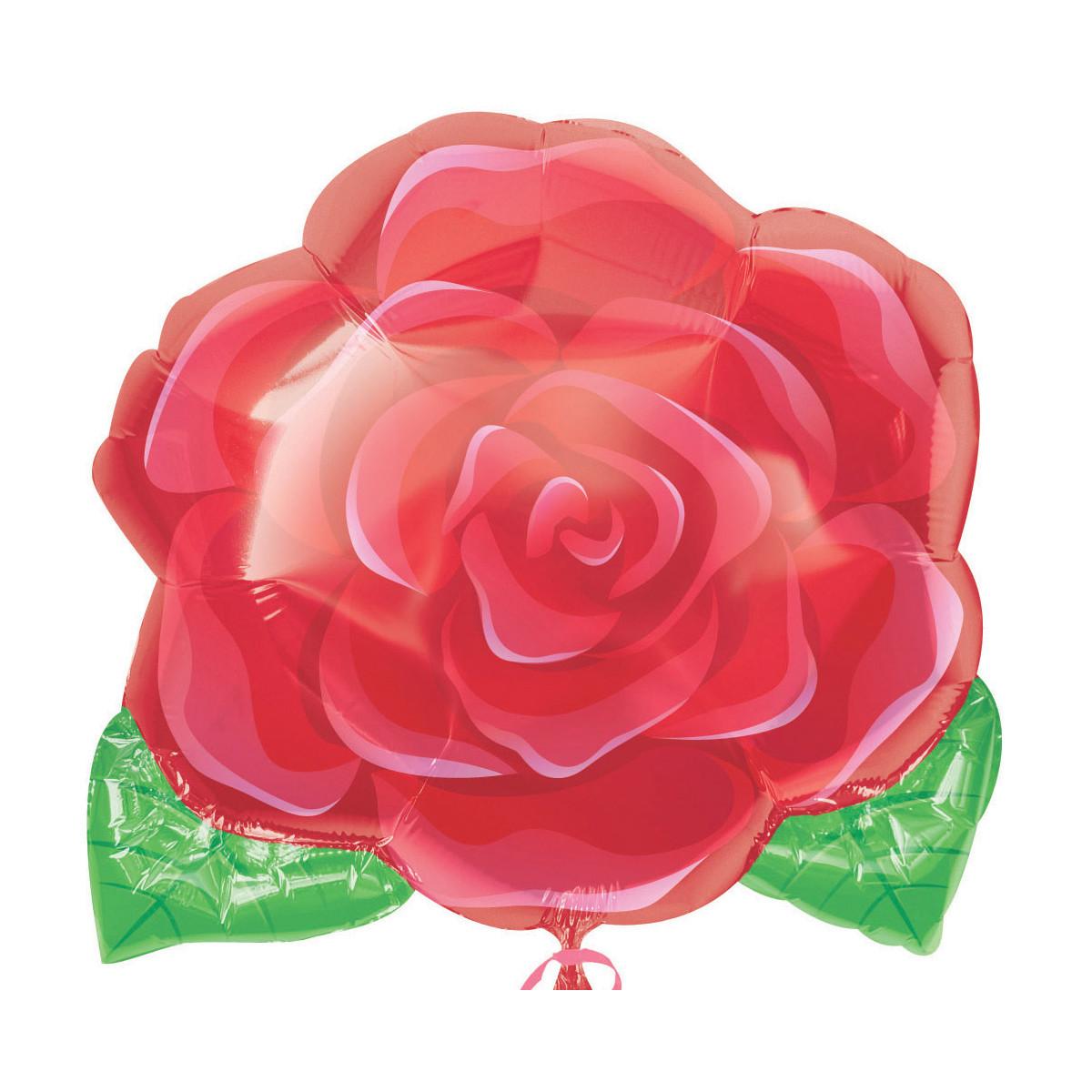 """HELIUM-LUFTBALLON """"BLÜHENDE ROSE"""""""