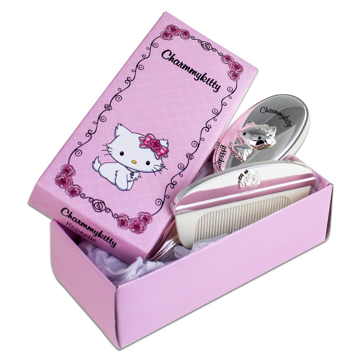 Hello Kitty – Kinder-Haarpflege-Set mit Gravur