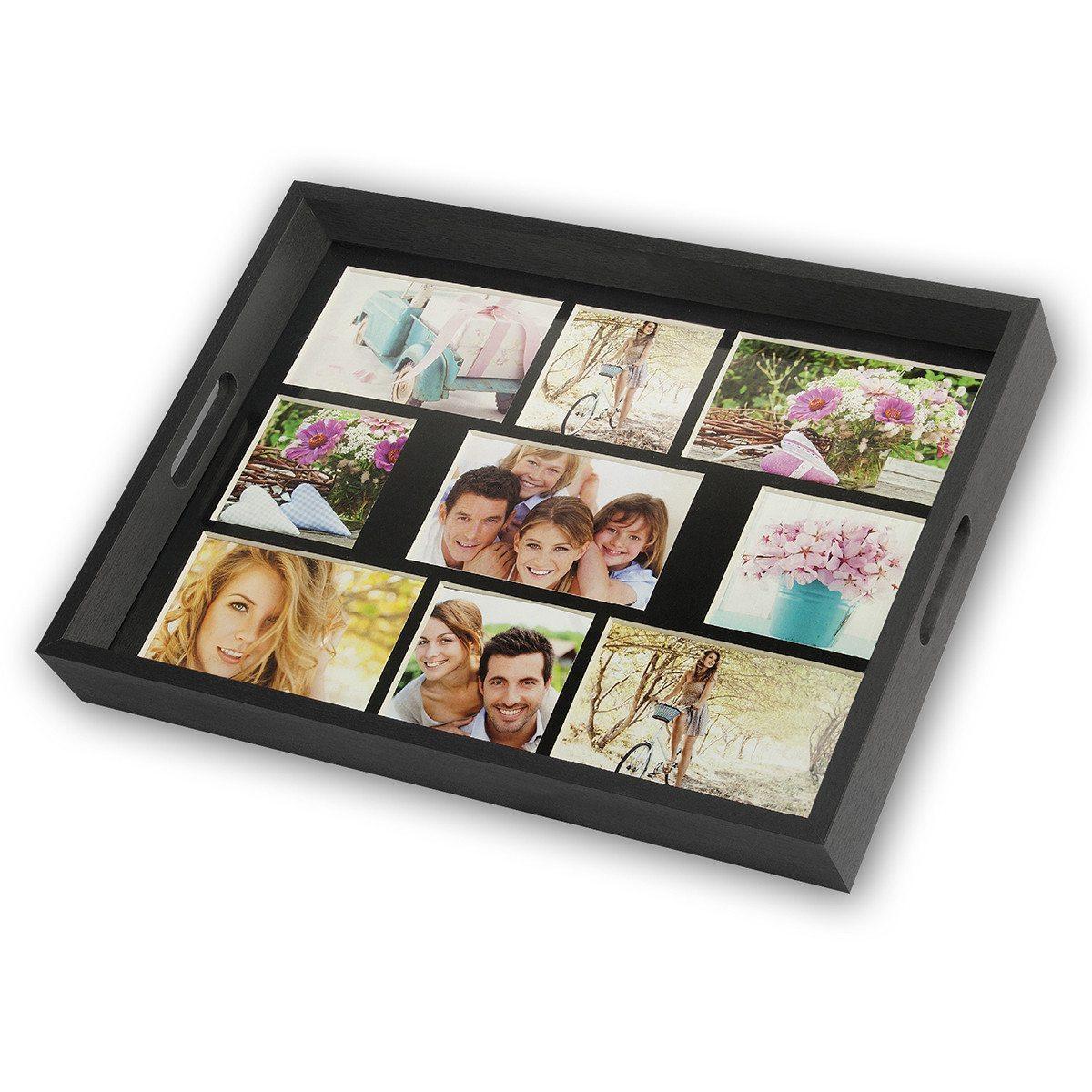 Individuell gestaltbares Foto-Tablett