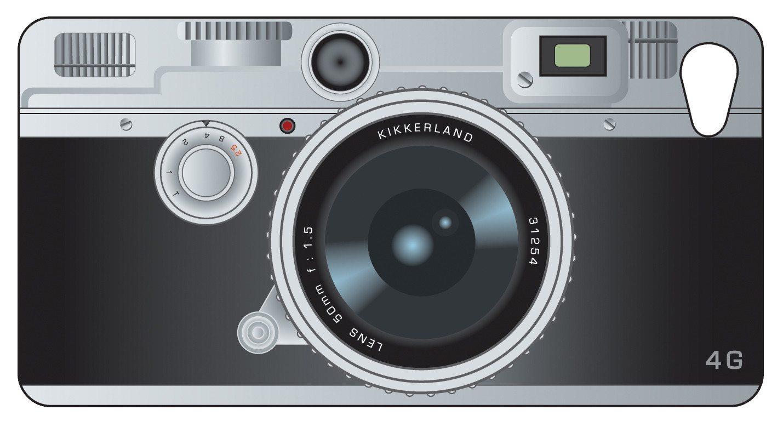 iPhone 4 Hülle Retro - Kamera mit Lenticular 3D Effekt