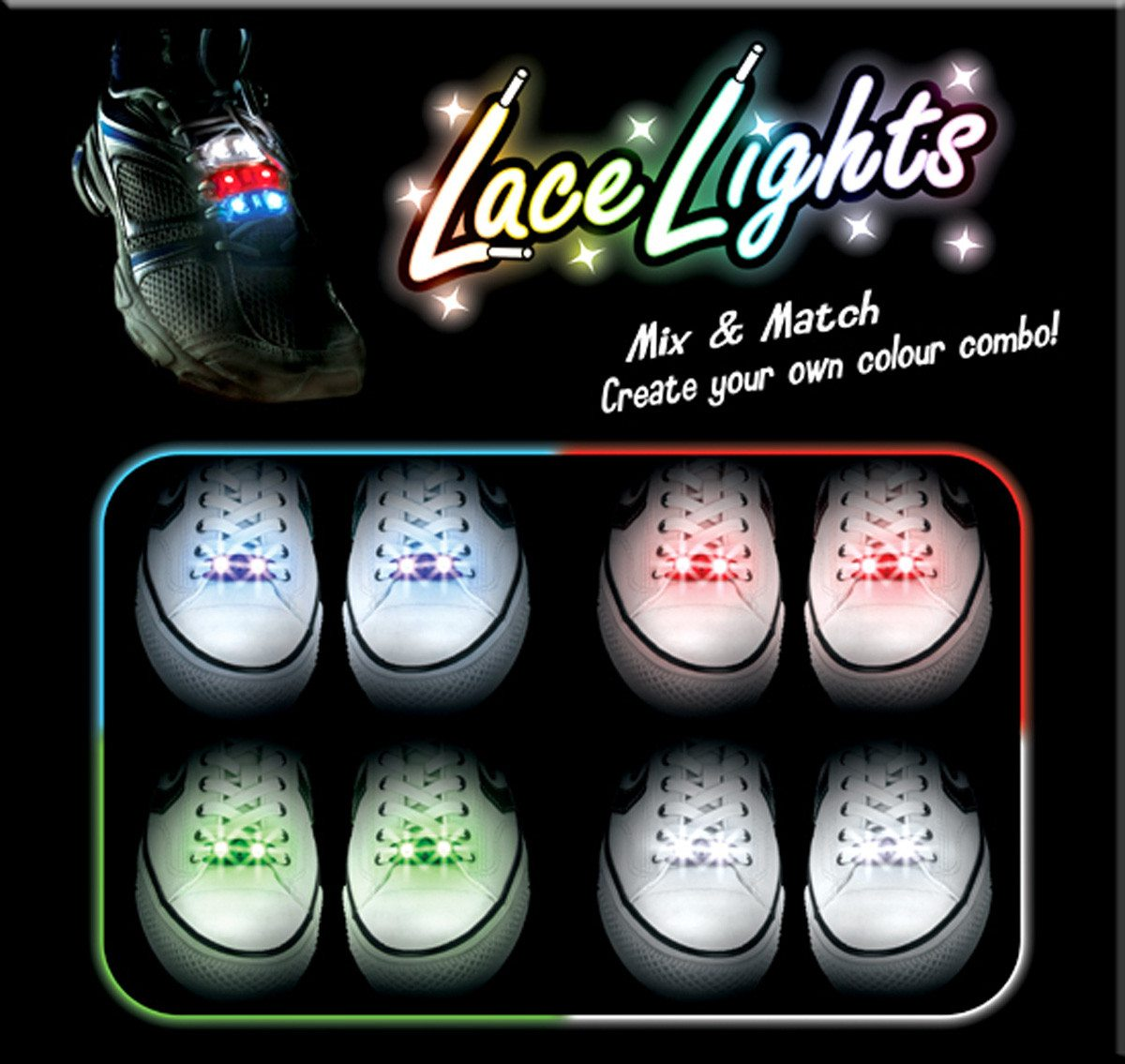 Lace Lights - LED Schnürsenkel