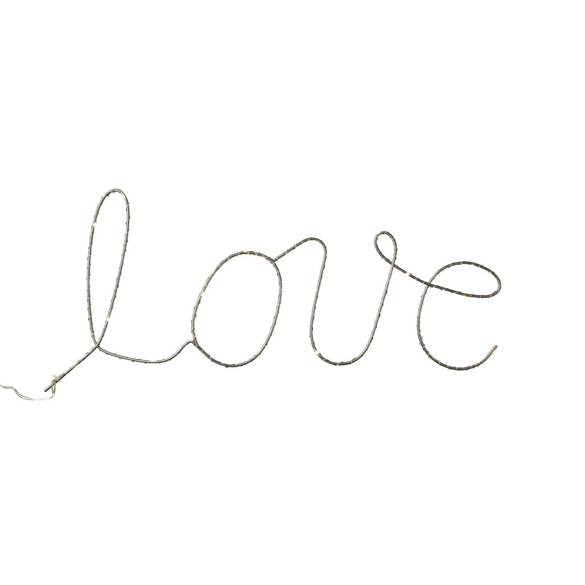 """LED-Schriftzug """"Love"""""""