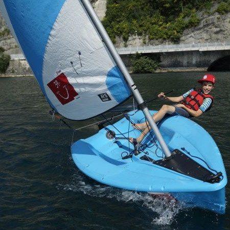 Lezione di vela per bambini - Lago di Garda