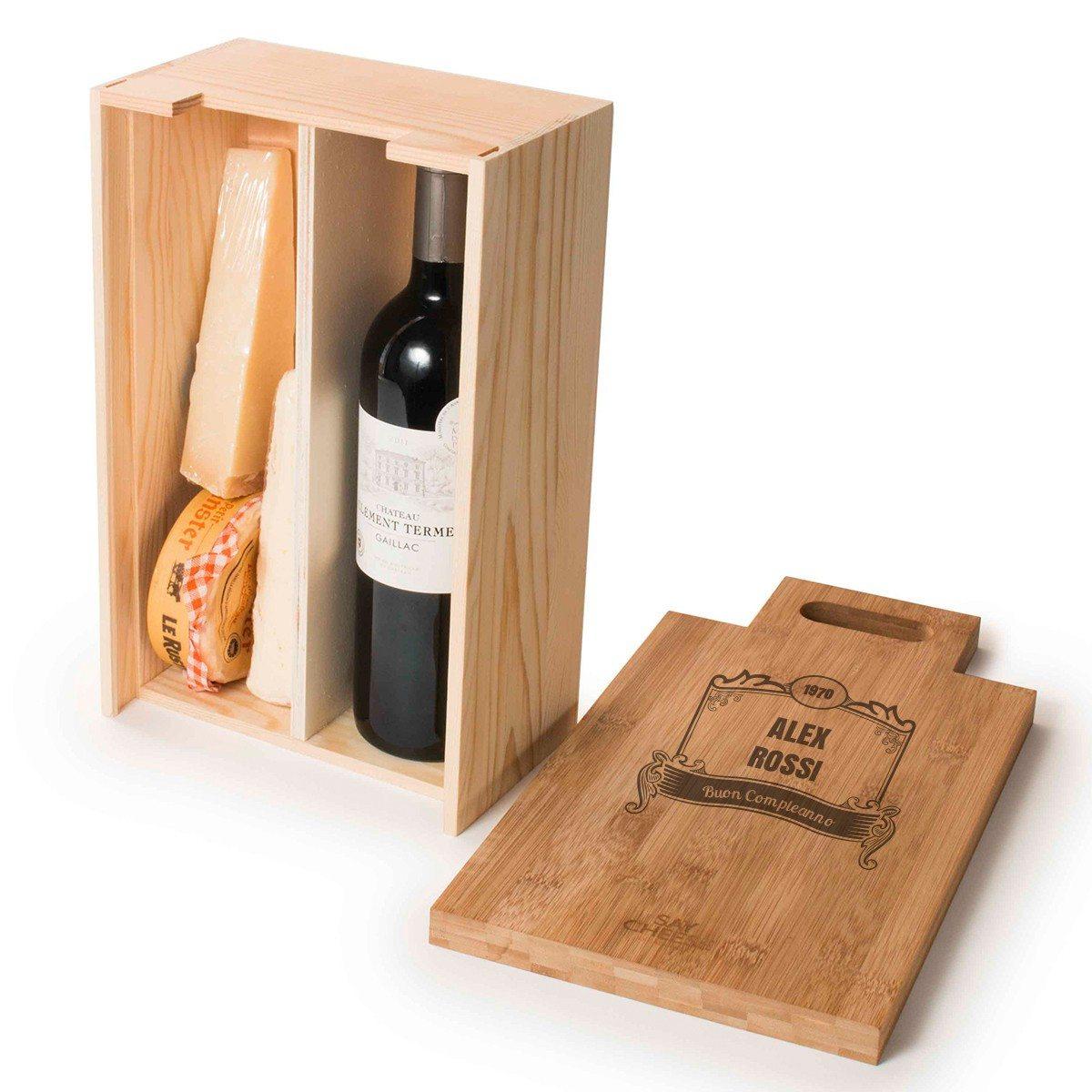 Say Cheese - Confezione in legno multiuso