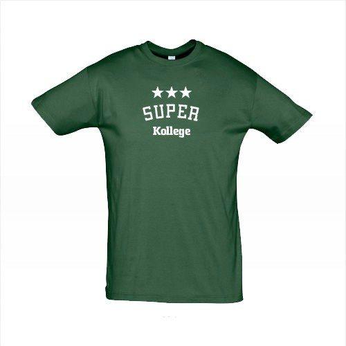 "T-Shirt per Uomo ""Super"" - Verde"