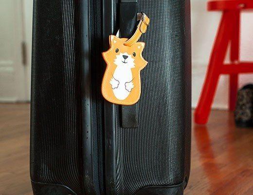 Etichette per valigia - Animali