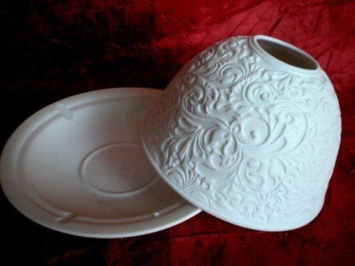 Portacandela di porcellana