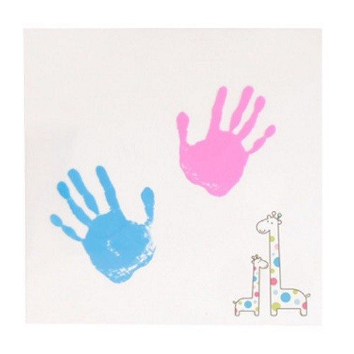Kit per pittura con impronta