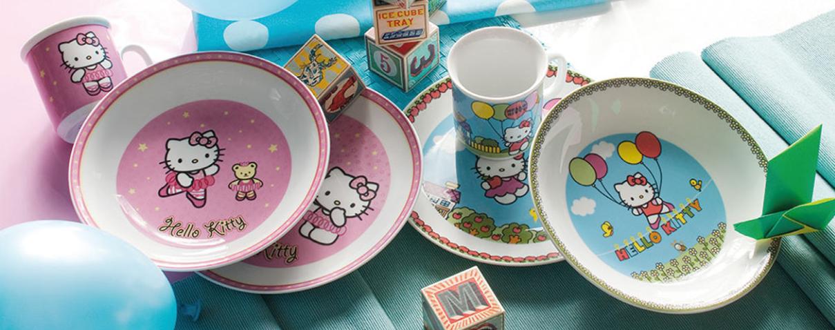 Set per la pappa - Hello Kitty